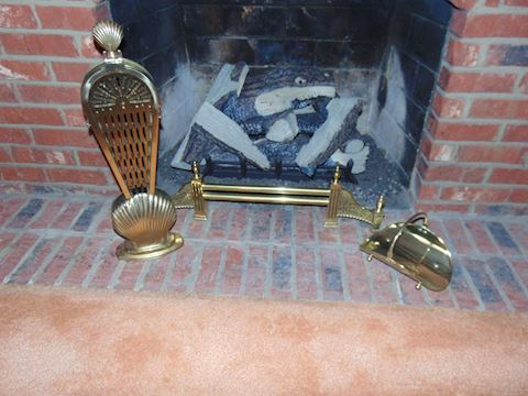 Fireplace set