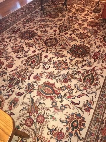 Vintage Persian Tabriz Room-Size Rug