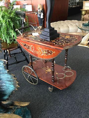 Vintage Italian Tea Cart
