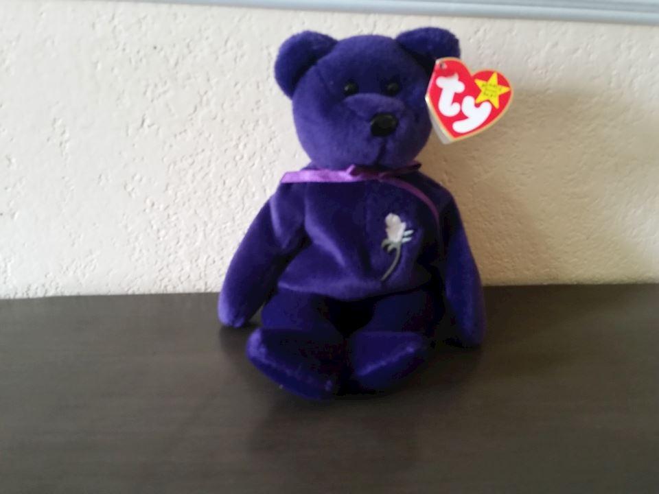 c139f7ae799 MINT PRINCESS (DIANA) TY BEANIE BABY ORIGINAL 1997 - 12 28  91.00 ...