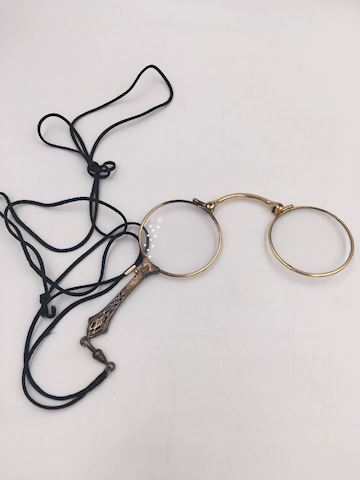 Antique Spectacles Glasses Lorgnette