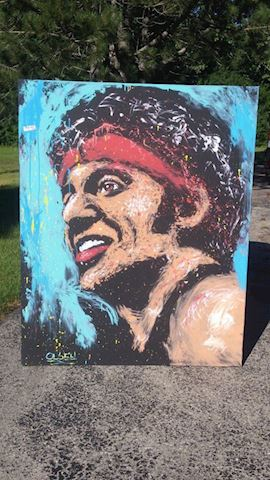 Bruce Springsteen Painting Original by Brian Olsen