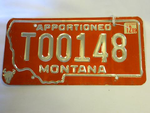 1989 Apportioned MT Plate