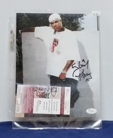 Slim Thug Autographed Picture