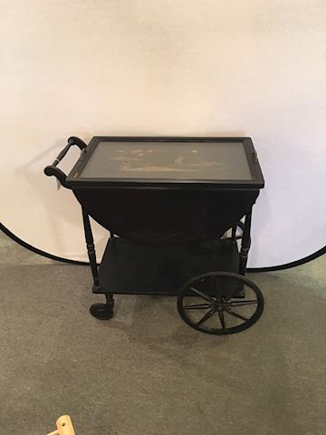 Oriental Tea Cart