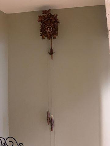 Wooden Cuckoo Wall Clock