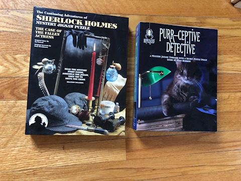 Sherlock Holmes puzzle game, cat mystery lot 2