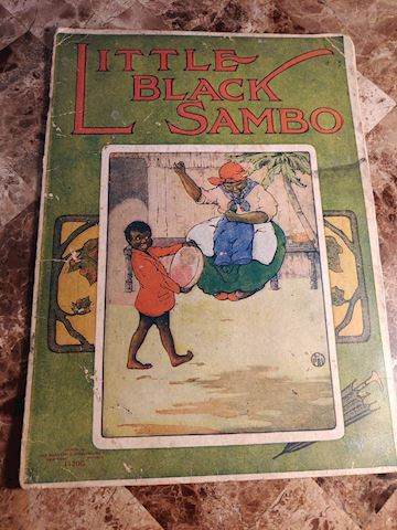 Little Black Sambo 1940 - Rare Book