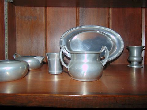 Minuet Pewter Set