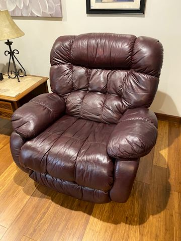 Fabulous leather recliner chair