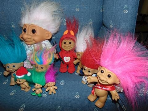 Vintage Troll Collection