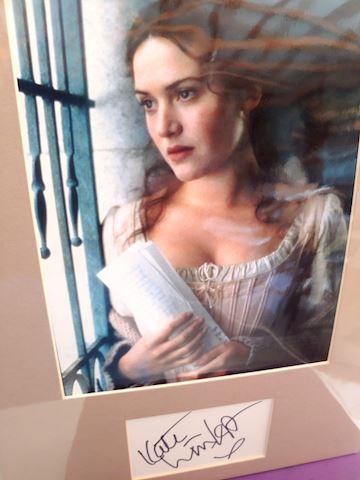 Kate Winslet Autograph