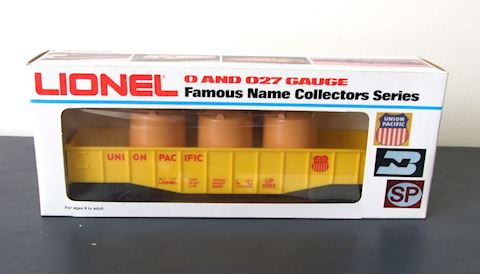 9283 ** UNION PACIFIC GONDOLA / 3 CANISTERS  1970