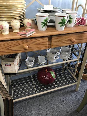 Wrought Iron Baker's Rack