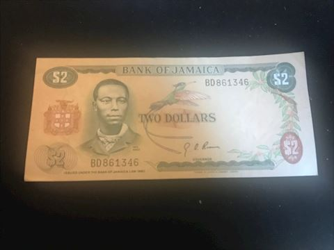Jamaica #2 note from 1960
