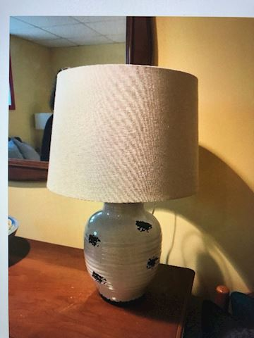 lamp ceramic