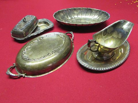 Miscellaneous Silverplate Lot, 6pc