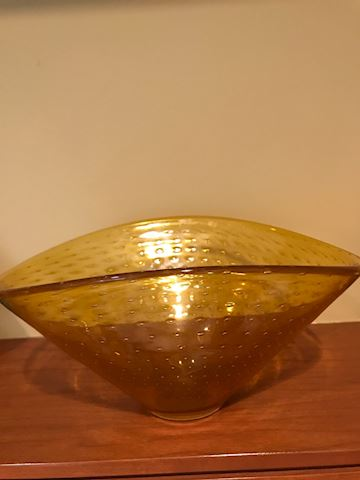 Casa-Boda amber bowl