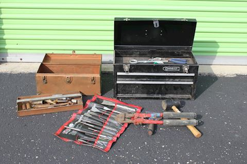 Tool Boxes & Tools