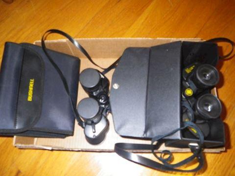 Buschnell Binoculars & Cases