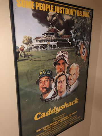 Caddy Shack movie poster