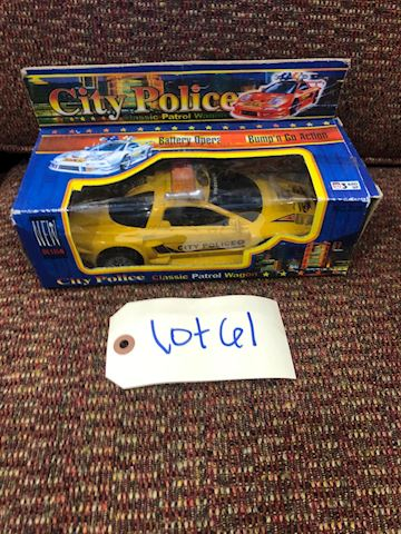 City Police Classic Patrol Wagon LOT 61