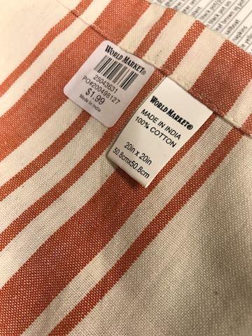 World Market napkins set 5