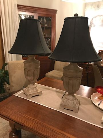 Pair of Gorgeous Lamps