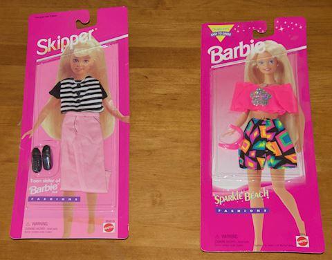 Barbie & Skipper Doll Outfits