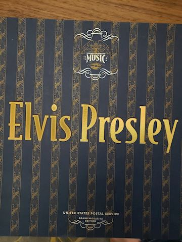 Elvis Presley Stamp set