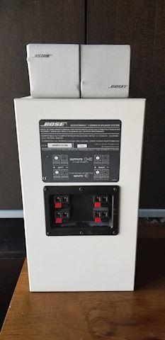 Bose series 3 speaker system 3pcs white