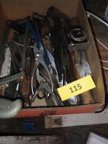 Lot #115 - Hand Tools (Shed)