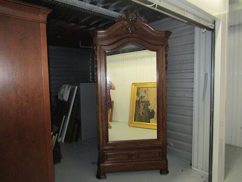 Antique 8 foot  Amoire 100 years old