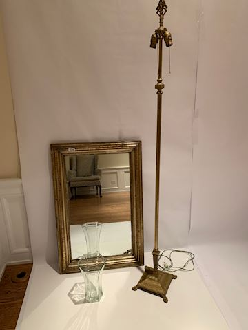 Lot 0056 Mirror & Meteor Lamp set