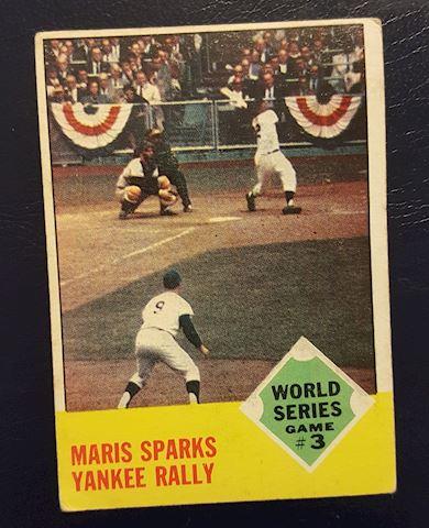1962 Roger Maris World Series Baseball Card #144