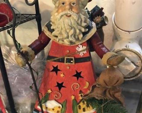 Metal Santa
