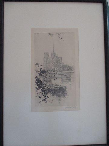 Henri LeRiche Sketch
