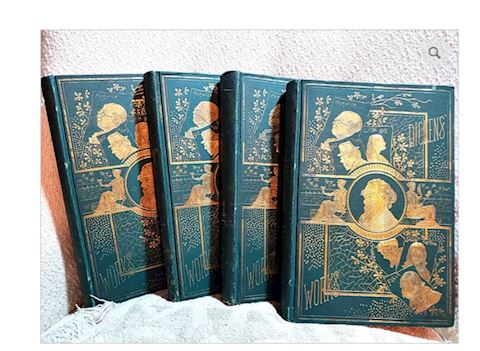 Antique Charles Dickens Books