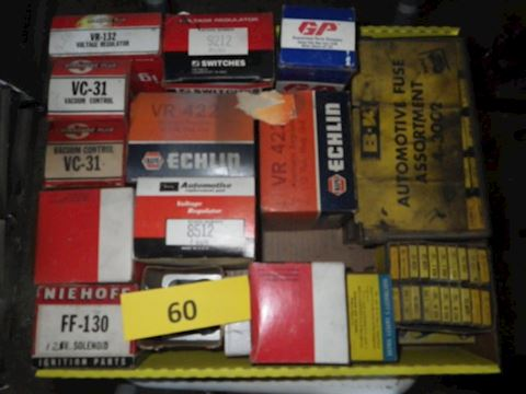 Lot #60 - Fuses and More (Garage)
