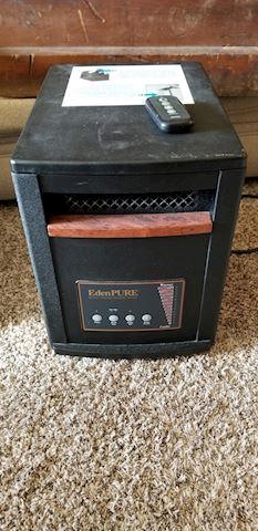 Eden pure heater Gen3 with remote