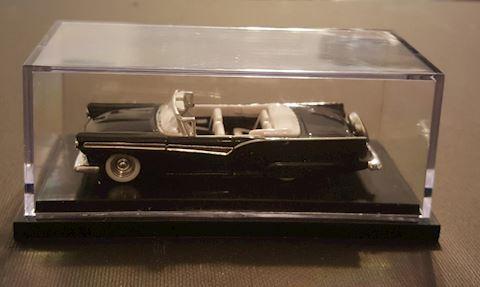 Vintage Model Car with Display Case