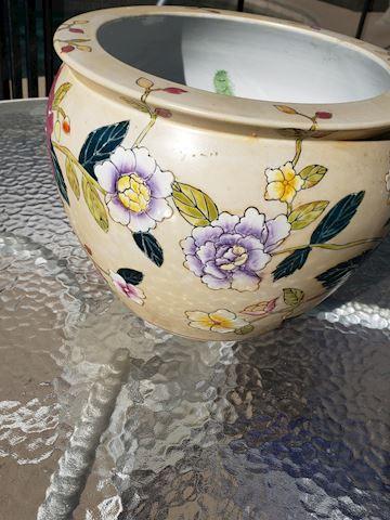 Beige Goldfish Bowl