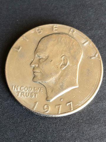 1977 Silver Dollar Coin