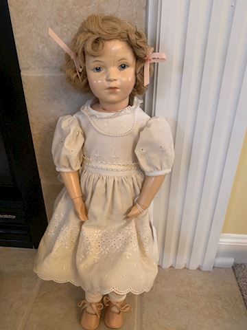 "Antique Schoenhut 18"" doll"