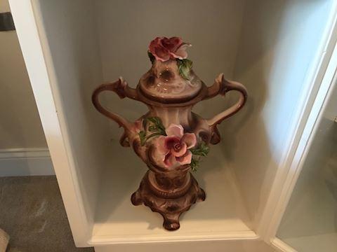"""Capodimonte 17"""" Vase / Urn"""