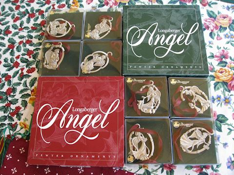 1998 1998 Angel Pewter Ornaments