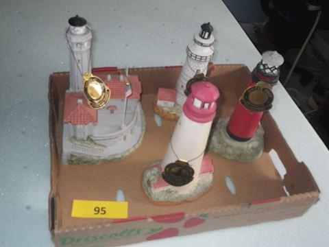 Lot #95 - Lighthouses