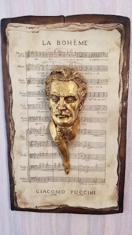 Puccini and Verdi wall hanging set