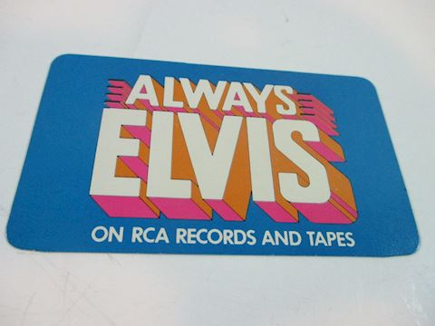 Always Elvis  1979 Calendar Card