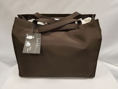 Brand new with tag Nicole Miller brown diaper bag